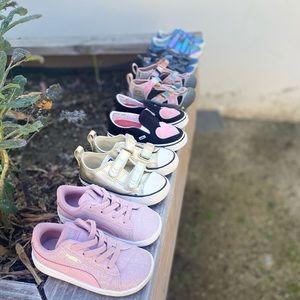 Vans converse keen carter puma shoe lot